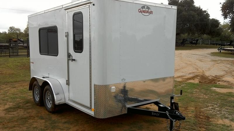 2019 Cargo Mate 7X12 TA A/C Enclosed Cargo Trailer