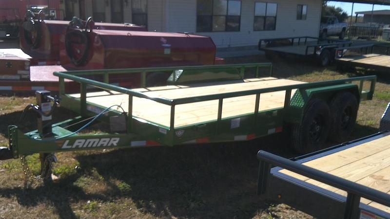 2019 Lamar Trailers 83X16 Super Duty Utility Trailer
