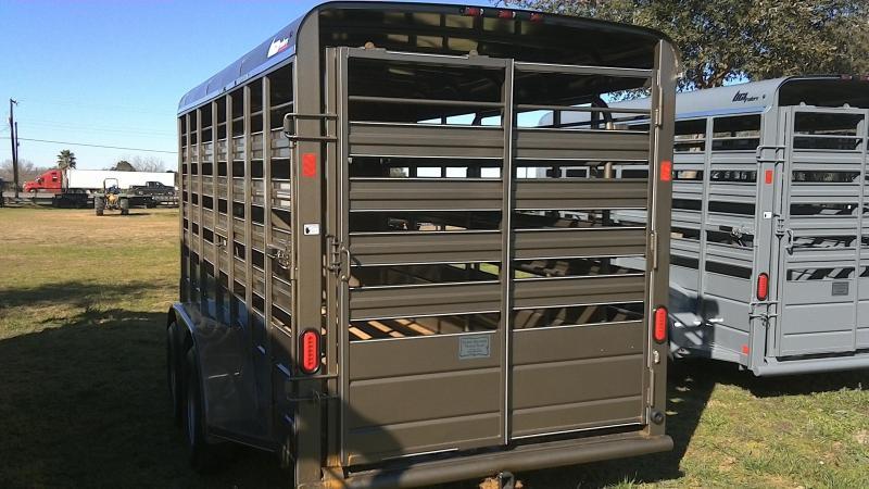 2019 BCI Trailers 6X16 Bumper Pull Livestock Trailer