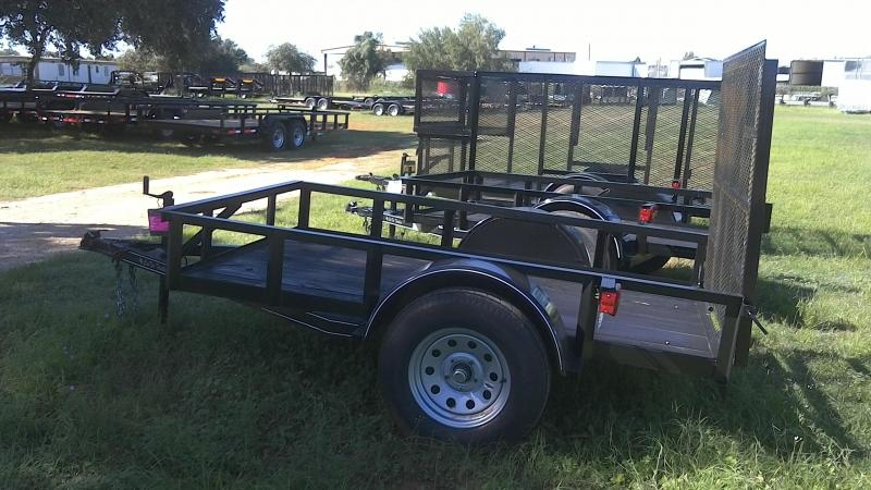 2018 CenTex 5X8 Single Axle Utility Trailer