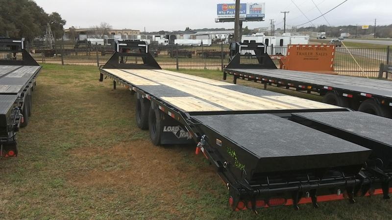 2019 Load Trail 102X40 Low Pro Goose Neck Tandam Dual Flatbed Trailer