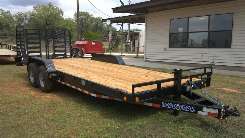 2019 Load Trail 83X22 Super Duty Equipment Trailer