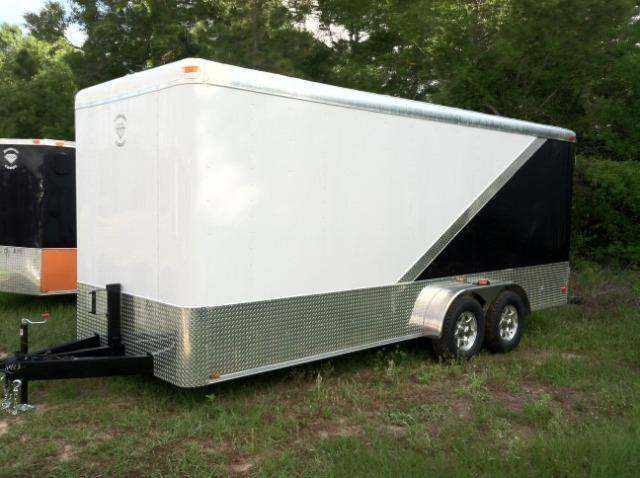Diamond Cargo Enclosed Cargo Trailer  7x18 TA 7'6 Interior Height