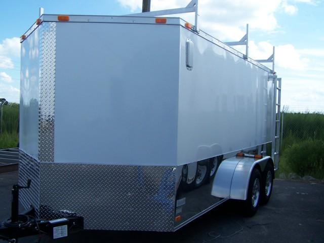 Diamond Cargo 7X14 VR Enclosed Construction Trailer in Ashburn, VA