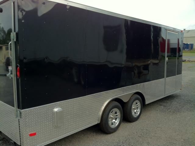 Diamond Cargo 8.5x20 VNose Enclosed Race Trailer in Ashburn, VA