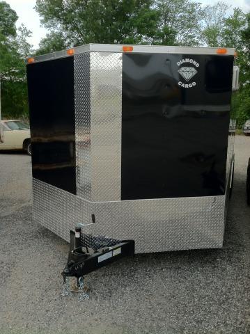 Diamond Cargo 8.5x20 VNose Enclosed Race Trailer