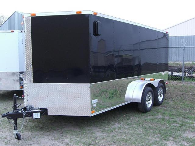 Diamond Cargo 7x14 TVRM Enclosed Motorcycle Trailer