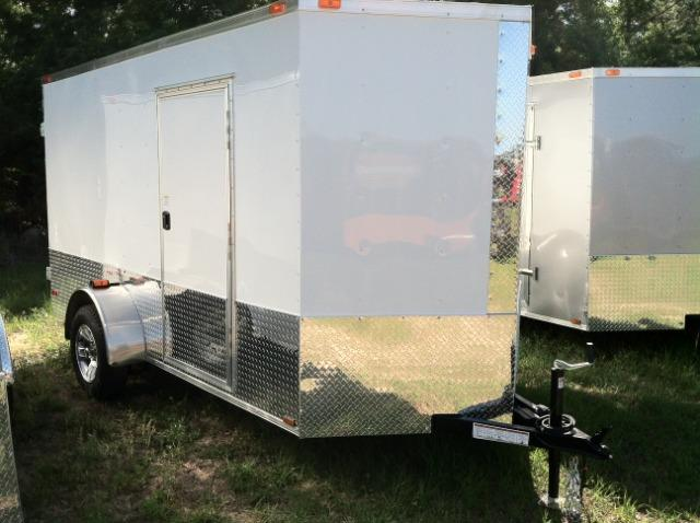 Diamond Cargo 6 x12 SA Enclosed Trailer EXTRA HEIGHT ATP ELECT BRAKE in Ashburn, VA