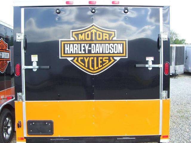 Diamond Cargo 7x14 TVRH Harley Enclosed Cargo Trailer