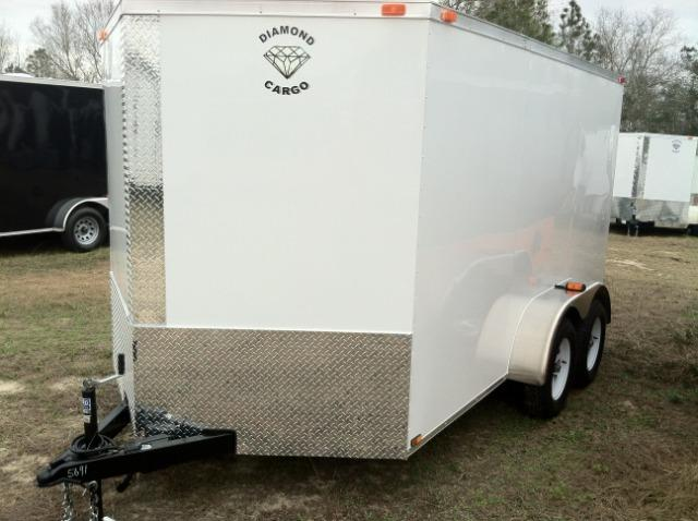 DIAMOND CARGO 7X12 TVR ENCLOSED CARGO TRAILER SCREW-LESS in Ashburn, VA