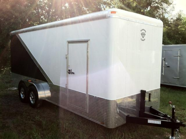 Diamond Cargo Enclosed Trailer 7x16 TA 6'8 Interior in Ashburn, VA
