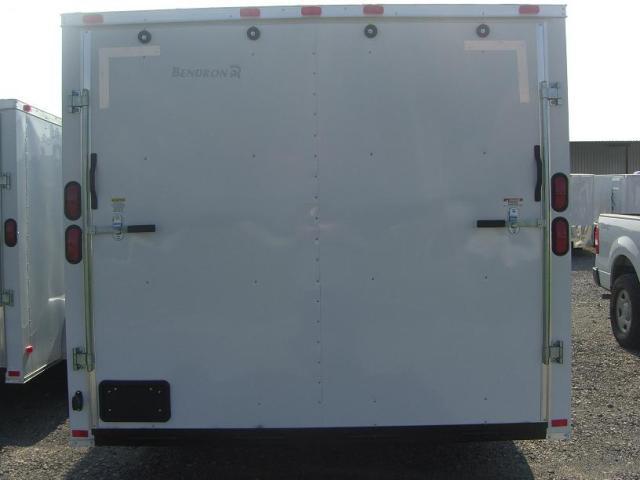 8.5X28 TR Enclosed Cargo Trailer 5200 lb. Axles