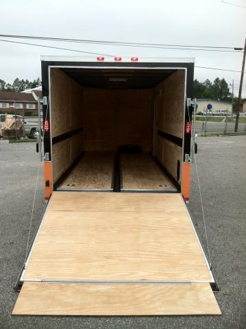 Diamond Cargo 7x16 TVRH Enclosed Harley Trailer