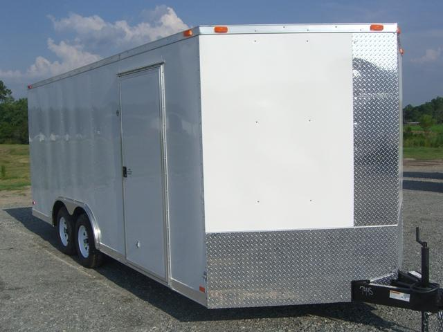 Diamond Cargo 8.5X20 Enclosed Cargo Trailer V Nose