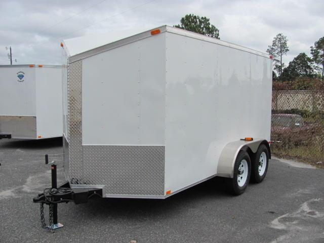 Diamond Cargo 6X12 Enclosed Cargo Trailer for sale TA SLANTED V  in Ashburn, VA