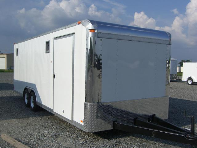 8.5x24 Rock Solid Cargo Race Trailer in Ashburn, VA