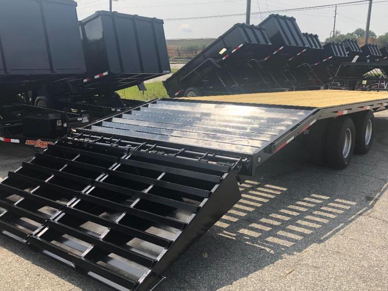2020 Down 2 Earth Trailers 10 Ton 30' Deckover Gooseneck Equipment Trailer