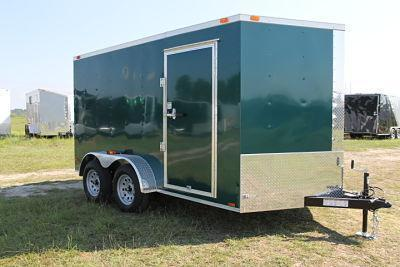 Factory Direct Cargo Trailers / 100s Of Enclosed Trailers In Stock / BBB A+ Rated / Delivery And Super Easy Financing Available