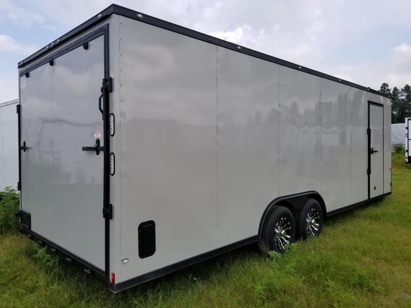 8.5X24 TVR Enclosed Cargo Trailer 5200 lb. Axles