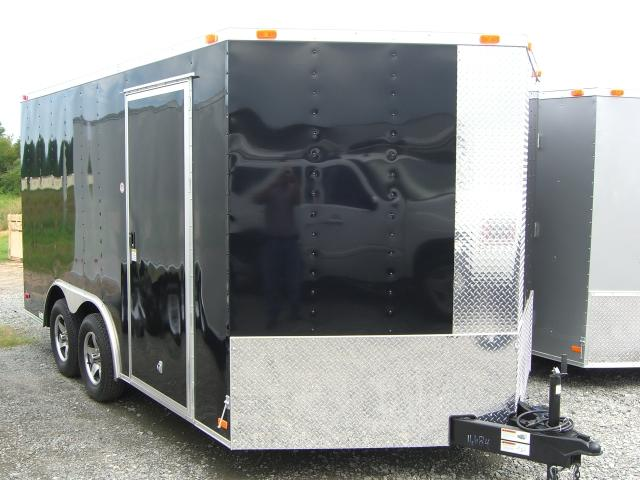 8.5X16 TVR Enclosed Trailer Star Mag W/ Spare