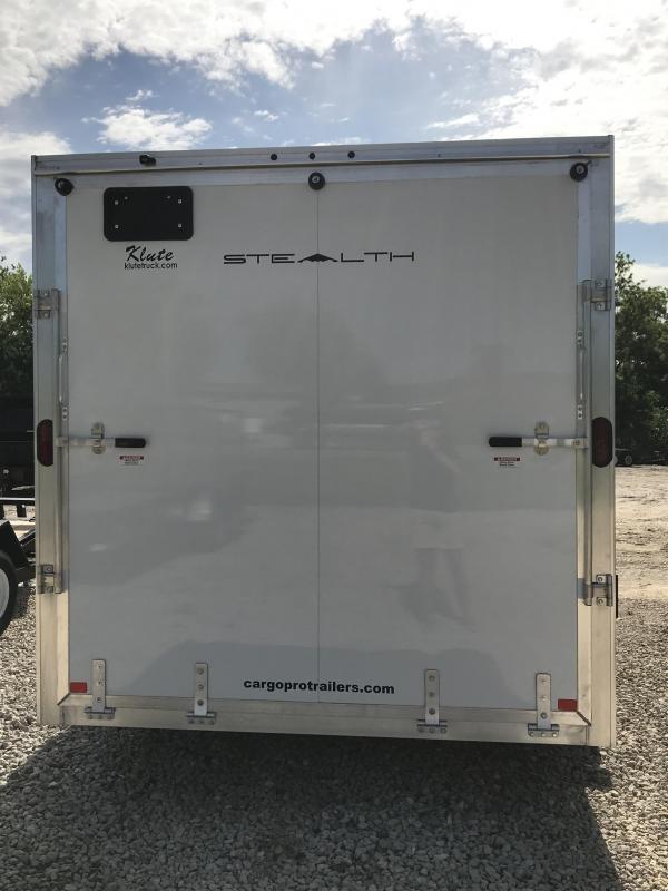 2019 Alcom-Stealth 7.5x16 Enclosed Cargo Trailer