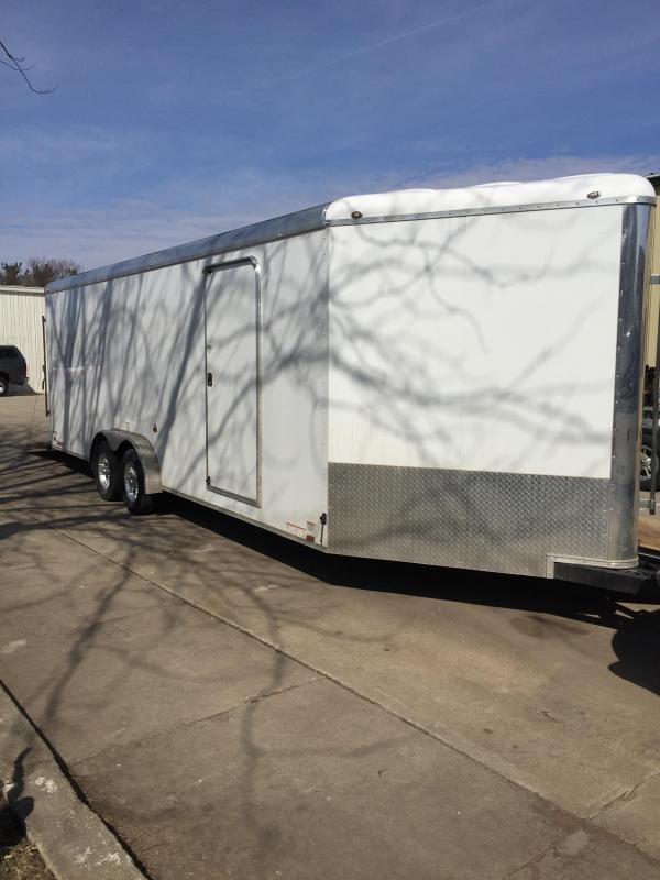 2018 Continental Cargo 7X28 SNOWMOBILE Enclosed Cargo Trailer