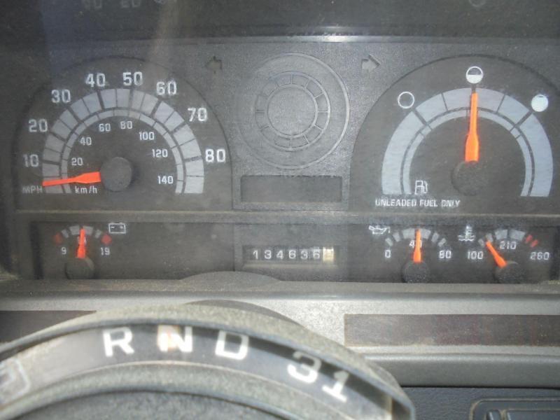 2001 GMC DUMP BOX TRUCK