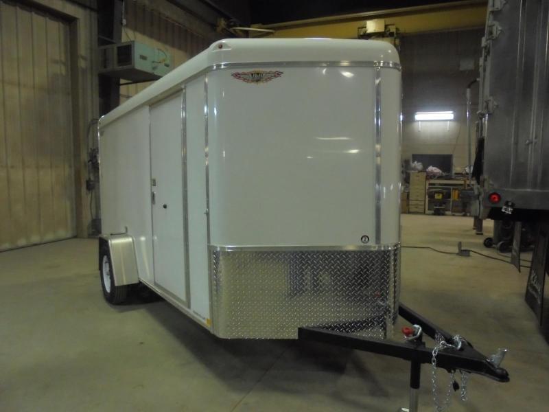 2019 H and H Trailer Cargo 6x12 Enclosed Cargo Trailer