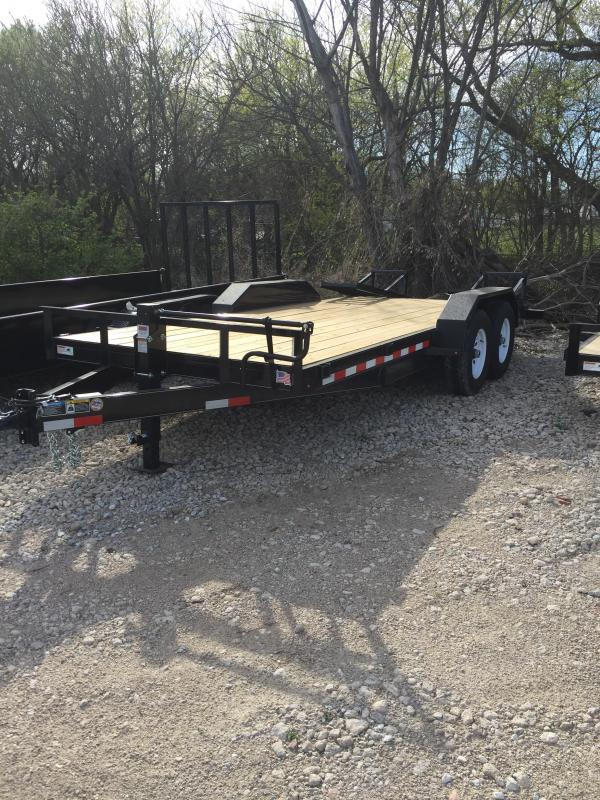 2019 H and H Trailer 82X16+2 IL 14K