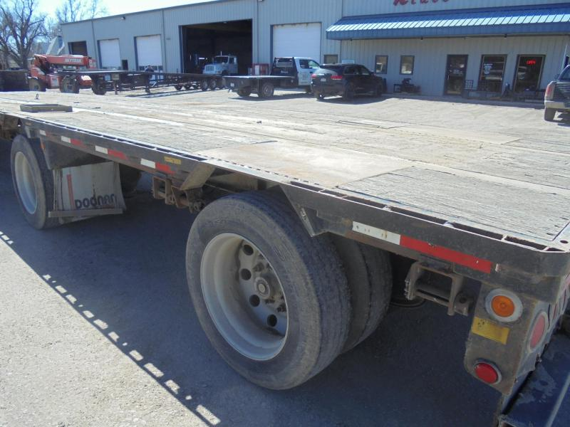 2007 DOONAN 53X102 STEEL DROP DECK EQUIPMENT TRAILER