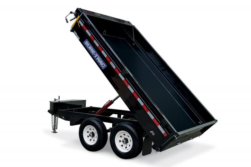 2019 Sure-Trac 6 X 10 10K SD Deckover Dump Dump Trailer