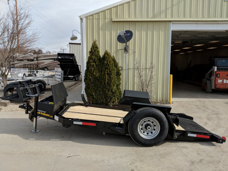 2018 Kemco 12' No Ramp Trailer Equipment Trailer