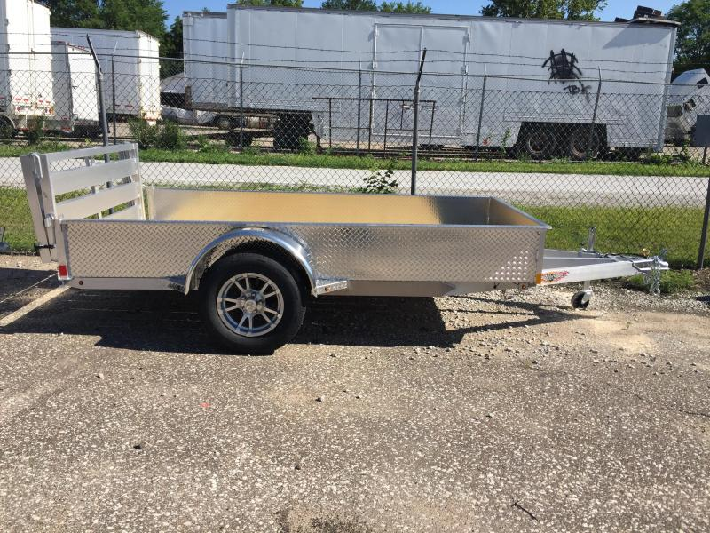 2019 H and H Trailer 5.5(66)X10 SOLIDSIDE ALUM 3K