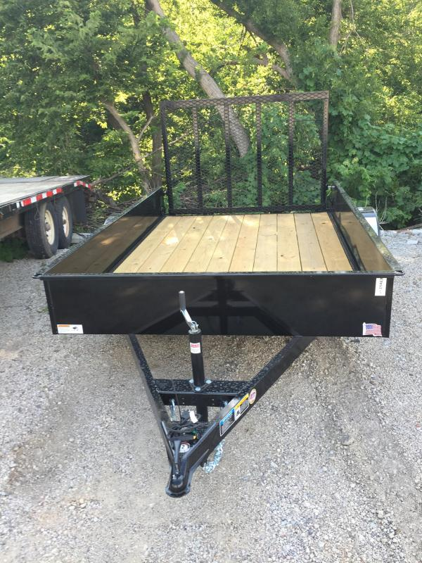 2020 H and H Trailer 76X10 STEEL SOLID SIDE 3.5K