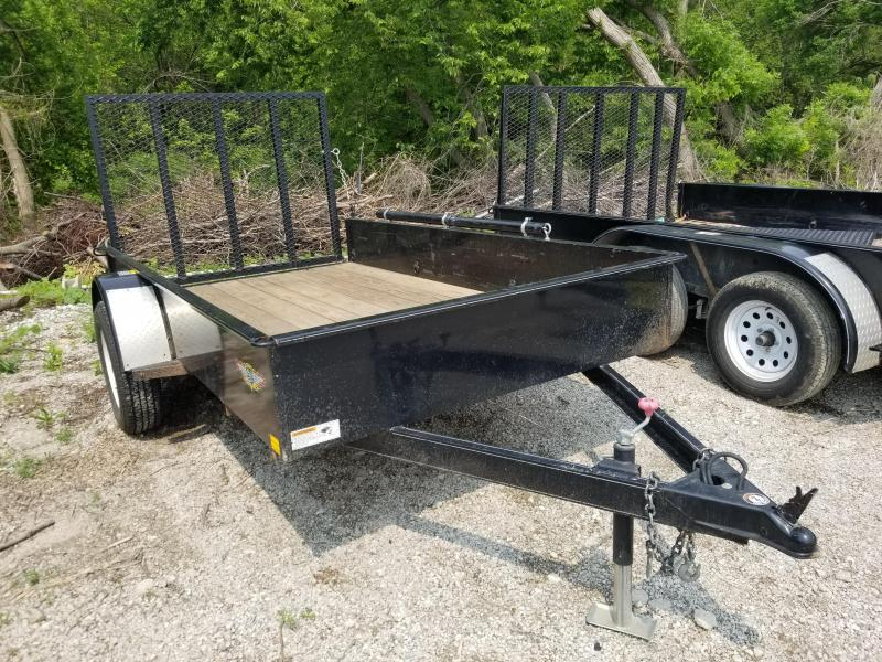 2014 H and H Trailer 5.5X10 STEEL SOLID SIDE Utility Trailer