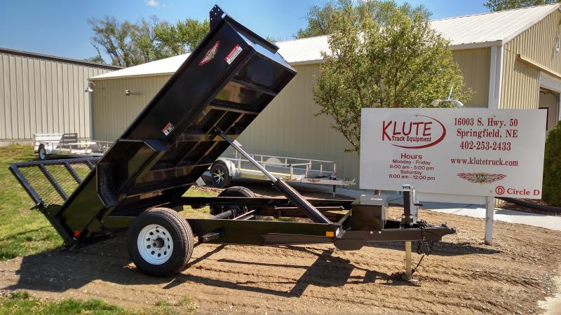 2018 H and H Trailer 5.5X10 UTILITY DUMP
