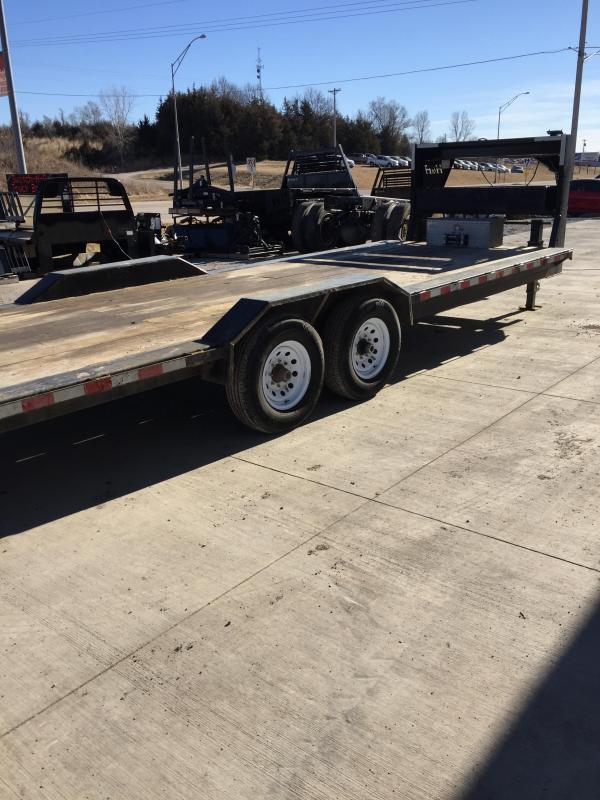 2016 H and H Trailer 8.5x26 EX Speedloader Equipment Trailer
