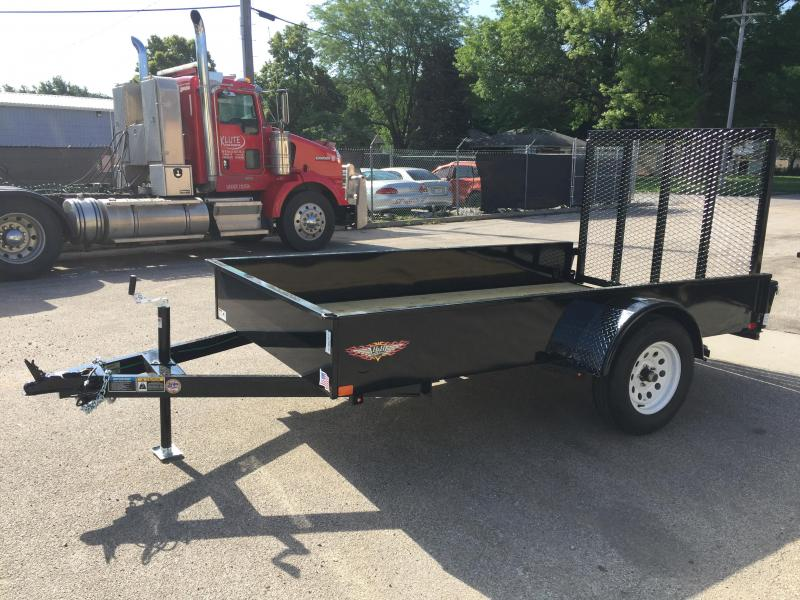 2019 H and H Trailer 66X10 STEEL SOLID SIDE 3.5K