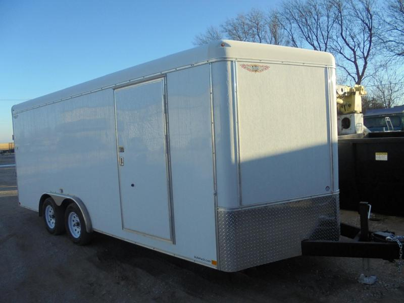 2019 H and H Trailer Cargo 8x18 Enclosed Cargo Trailer