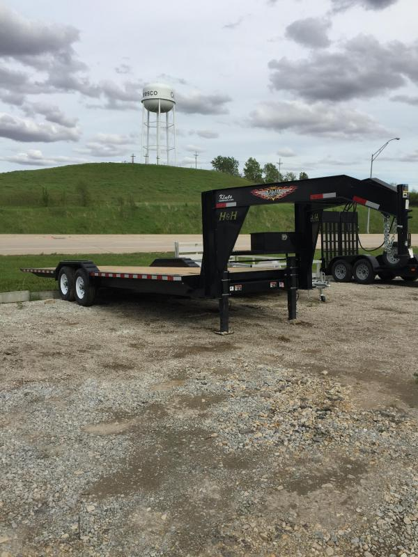 2019 H and H Trailer 82X26 EX HD GN SPEEDLOADER 14K
