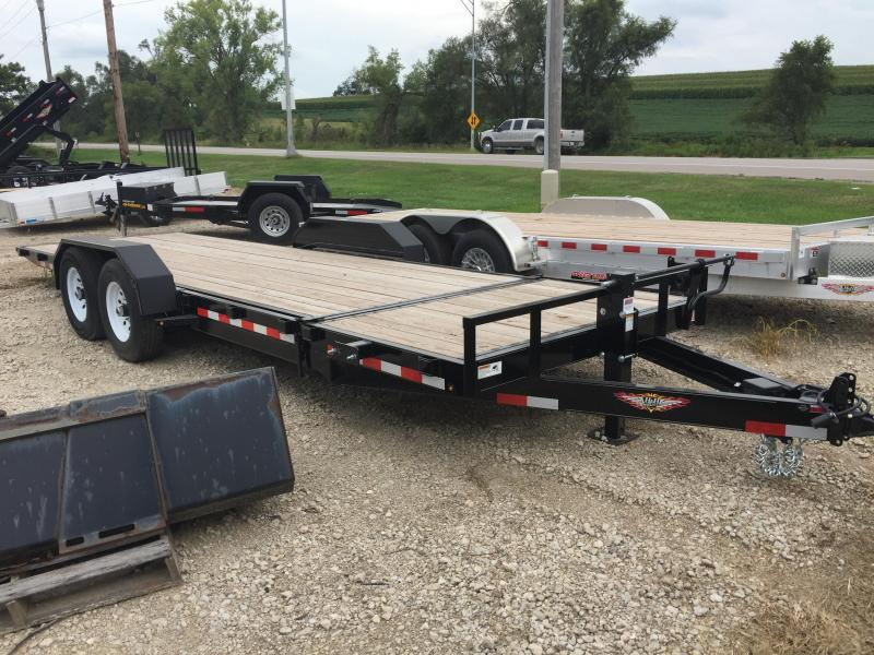2019 H and H Trailer 20+4 GTL 14K