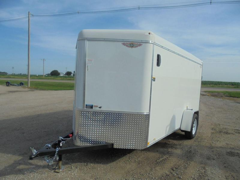2019 H and H Trailer 6X12 SINGLE RND TOP HH V-NOSE 3 5K CARGO