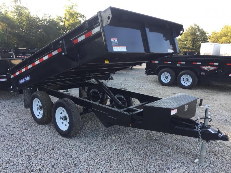 2019 Sure-Trac 6 X 10 7K SD Deckover Dump Dump Trailer