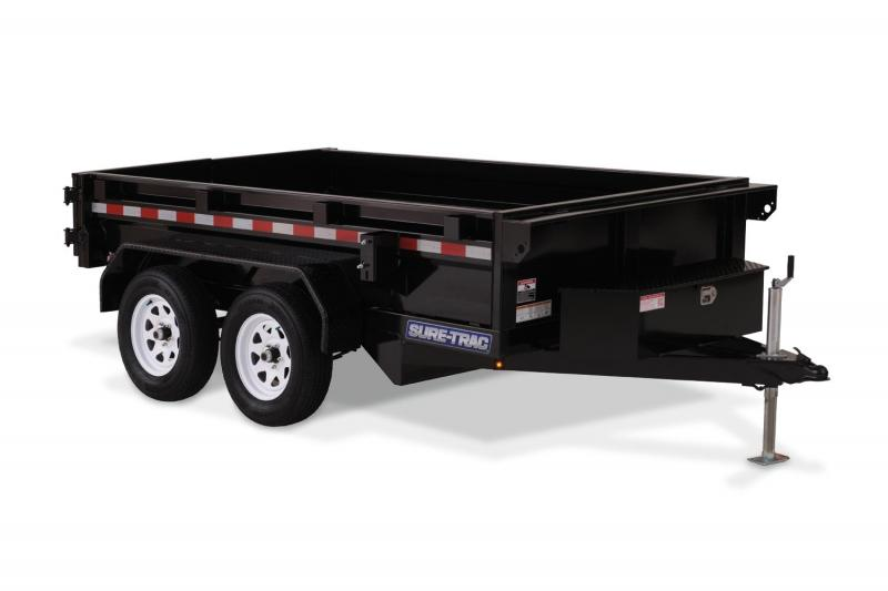 2019 Sure-Trac 5 X 8 5K Low Profile Homeowner Dump Dump Trailer