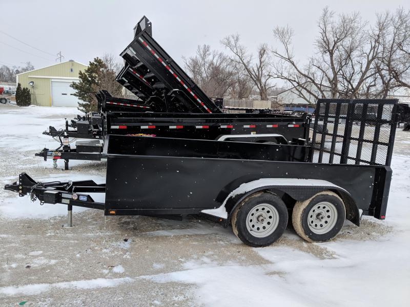 2019 Nation Tank and Trailer Scissor Lift Trailer 6x12 Equipment Trailer