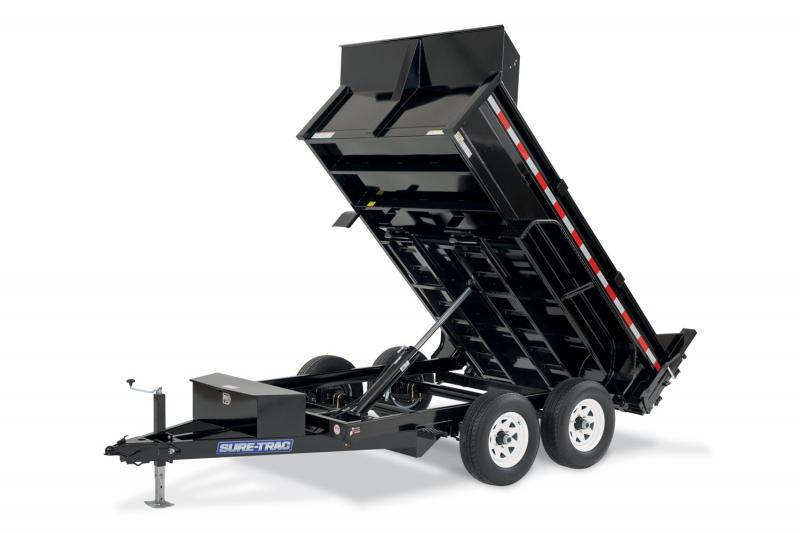 2019 Sure-Trac 6 X 10 10K SD Low Profile Dump Trailer