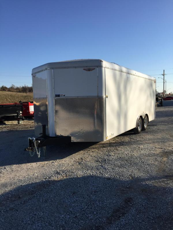 2018 H and H Trailer 101x20 Enclosed Cargo Trailer