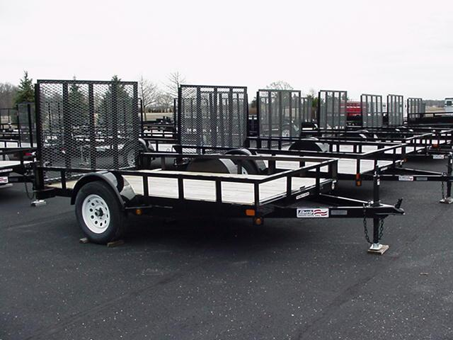 2017 Liberty LU3K82X10A Equipment Trailer