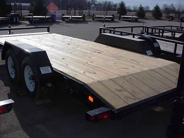 "Liberty 82""x18' (16+2) Channel Frame Carhauler"