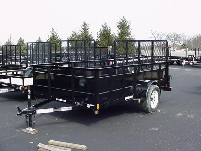 "Liberty   6 x 10 SA Angle Frame w/30"" Solid Steel Sides/Angle Rail/HD Spring Assisted Mesh Ramp in Ashburn, VA"